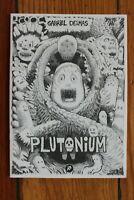 Plutonium Gabriel Delmas 1st Print Ltd 300 Out of Print Hollow Press Art Comic
