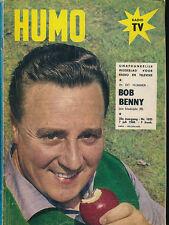 HUMO 1035 (7/7/60) BOB BENNY FREDDY QUINN CONSTANTINE LEMARQUE COCHRAN