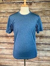 Prana Blue T Shirt Size Small Polyester