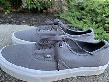 Vans Sneakers Shoes Size 6.5M(8ladies)Gray Boho Retro Classic