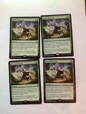 X4   Nissa's Renewal  Mtg  Magic  (see scan)