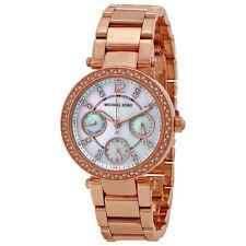 Michael Kors Parker Multi-Function Rose Gold-tone Ladies Watch MK5616