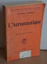 L'aéronautique. Paul Renard. 1909