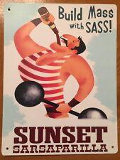 Tin Sign Vintage Fallout Sunset Sarsaparilla Build Mass With Sass Lg