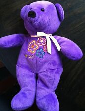 Fao Girl Purple Plush Bear Fao Schwarz Fifth Avenue