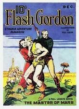 Pulp reprint FLASH GORDON STRANGE ADVENTURE MAGAZINE (1936) 8 pages of color art