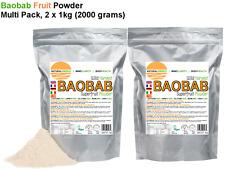 Baobab Fruit Powder 2000 grams  - direct from baobab fruit harvesting company