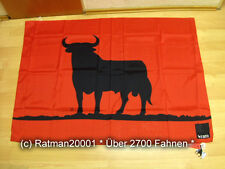 Fahnen Flagge Osborn Stier Rot - 97 x 138 cm