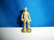 BUTCH CASSIDY Brass Gold Figure AMERICAN WILD WEST Kinder Surprise Metal Soldier