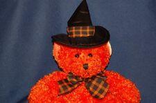 "Hocus Orange Halloween Bear Witch Hat Russ 12"" Plush Stuffed Animal Lovey"