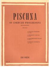 Pischna: 60 Esercizi Progressivi Per Pianoforte - Ricordi
