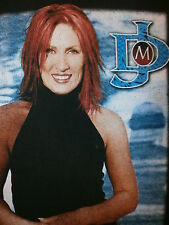 JO DEE MESSINA CONCERT T SHIRT Country Redhead 00's 2002 Tour LARGE