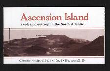 ASCENSION 1981 £1.20 BOOKLET SB3 FINE & COMPLETE.