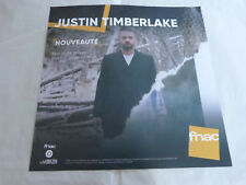 JUSTIN TIMBERLAKE - MAN OF THE WOODS !!!!!!!PLV 30 X 30 CM !!!!!!!!