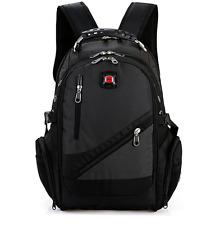 2017 SWISS Laptop Backpack Travel Hiking Camping Bag School Business Bag Grey