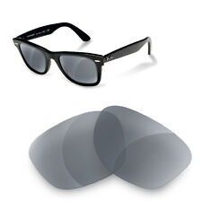 Polarized Replacement Lenses for Rayban 2140 wayfarer 50 size grey color