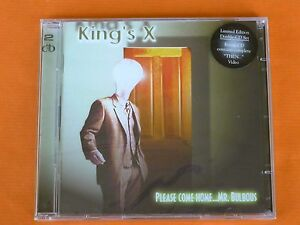 KING´S X Please come home… Mr Bulbous - 2 cd - limited edition - Precintada
