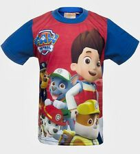 Kids Paw Patrol Boys & Girls Long Sleeve T-shirt - Ages 3 to 8 7 Years Red