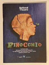 PINOCCHIO National Theatre Program/Notebook Broadway Playbill HARD TO FIND MINT