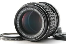 【EXC+++++】Pentax smc M 100mm f/2.8 Telephoto MF Lens for K mount w/ Filter #2440