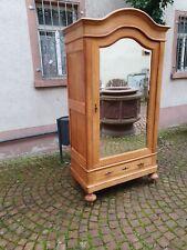 Antik Kleiderschrank Jugendstil Schrank Dielenschrank Garderobe Massivholz