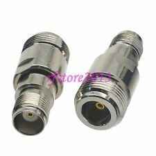 1pce Adapter Connector N female jack to TNC female jack for WiFi Antenna Router