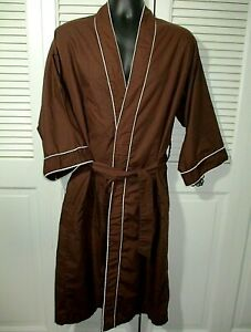 "Vtg Fruit Of The Loom ""Golden Fruit"" Men's Dressing Gown~OSFA~Lightweight~Used"