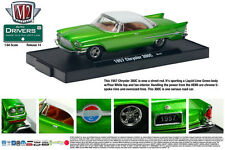 CANDY GREEN 1957 CHRYSLER 300C M2 MACHINE 1:64 SCALE DIECAST METAL MODEL CAR