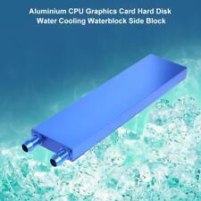 160x40x12mm Aluminium CPU Graphics Card Hard Disk Water Cooling Waterblock
