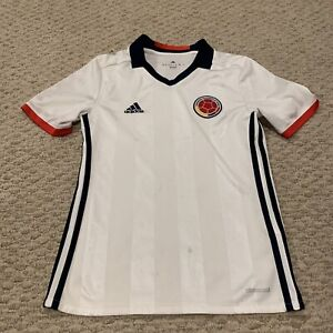 Colombia National Soccer Team Adidas Futbol Jersey Youth 11-12Y