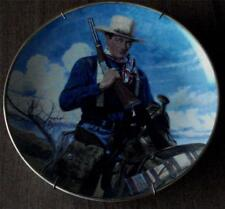 John Wayne Spirit of the West, Franklin Mint Heirloom Collectible Plate, Ld 8605