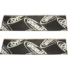 "(2) DYNAMAT Xtreme Sound Dampening License Plate Kit Plain Pak 12"" X  4"" Qty 2"