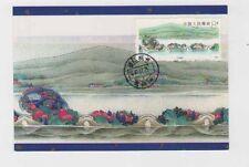 china 1989 8f Sc 2249 yv.2976 MAX card         a704