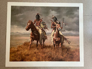 Howard Terpning The Victors Signed / Numbered RARE