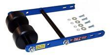 Twin Roller Wheelie BLUE Bar Raptor 660 KFX/LTZ 400 LTR 450 Quad ATV Tag Z