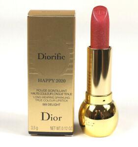 Dior Diorific Happy 2020 Delight 069 Long Wear Sparkling True Color Lipstick NIB