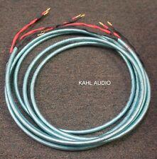 Ensemble Audio Luminoso Spk Cables. 3m w/bananas. Swiss high end. $1,500 MSRP