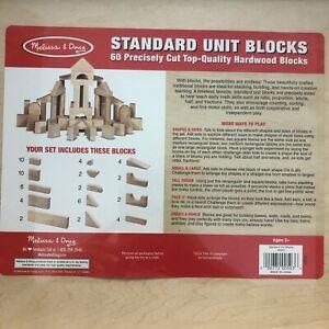 Melissa & Doug 60 Standard Unit Blocks