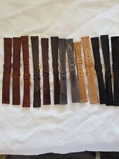 Cinturino in lucertola da mm.14