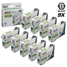 LD © Remanufactured Epson T126120 Set of 9 High Capacity Black Ink