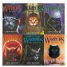 Power of Three Warrior Collection Erin Hunter 6 Books Set The Sight,Outcast