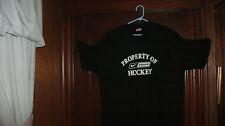 hockey t-shirt S/S black PROPERTY OF NB HOCKEY size 2XL brand new