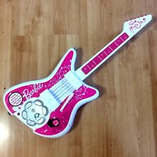 VTG Barbie Jam with Me Rock Star Guitar - Works Perfectly- 7 songs, lights up
