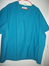 Plus Unisex Lot Of 2- Uniform Scrubs Top By Medline& . Size 4Xl