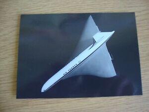 Aerospatiale/BAC Concorde Model in Air France Colours - Unused Postcard