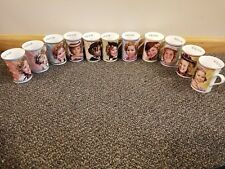 Set of 11 Danbury Mint Shirley Temple Collector Mugs ALL DIFFERENT EUC 2002-03