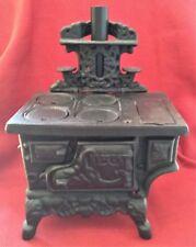 Miniature Crescent Cast Iron Stove