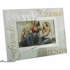 Glass Photo Frame Special Friend Christmas Gift Ideas For Her & Friends
