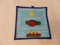 1999 Three Fires Council Fox Valley District Camporee BSA Patch Camp Lowden