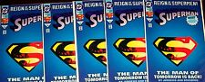SUPERMAN #78 (NM) 5 copies! Cool Die-Cut Cover! Reign of the Supermen! Doomsday!
